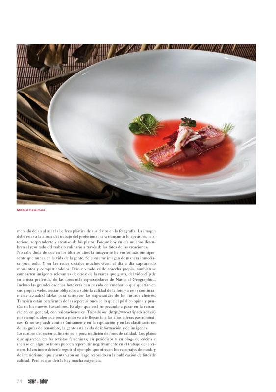 Revista con artículo sobre foto culinaria p4