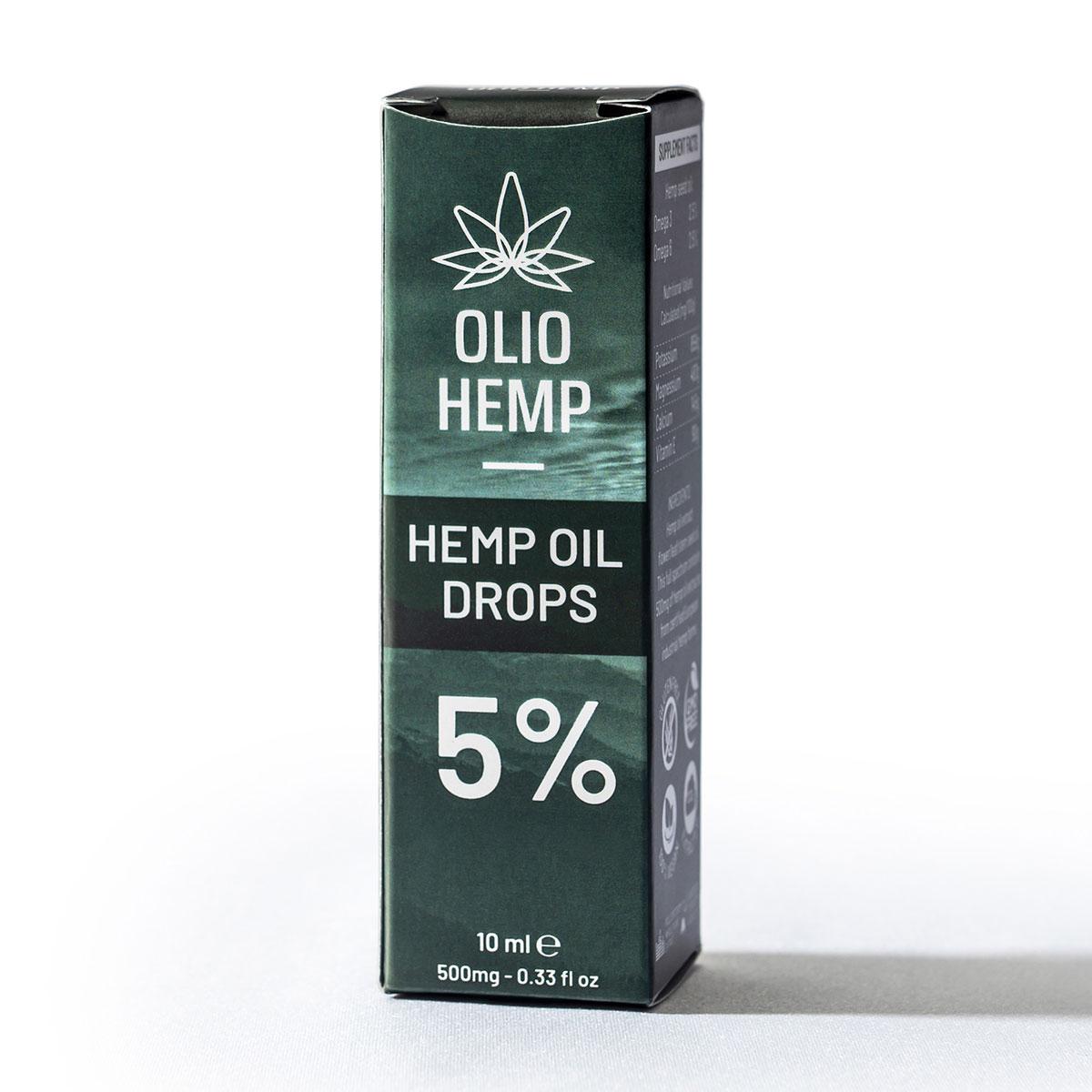 Cajita packaging de aceite esencial